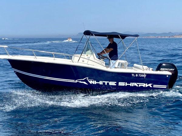 White Shark 605 – 150cv